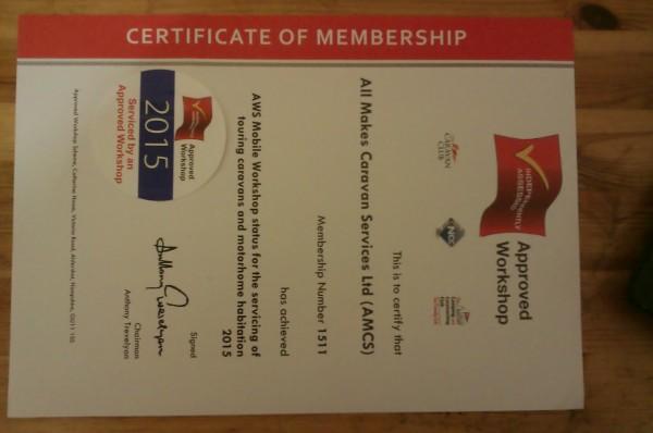 2015 NCC Certificate