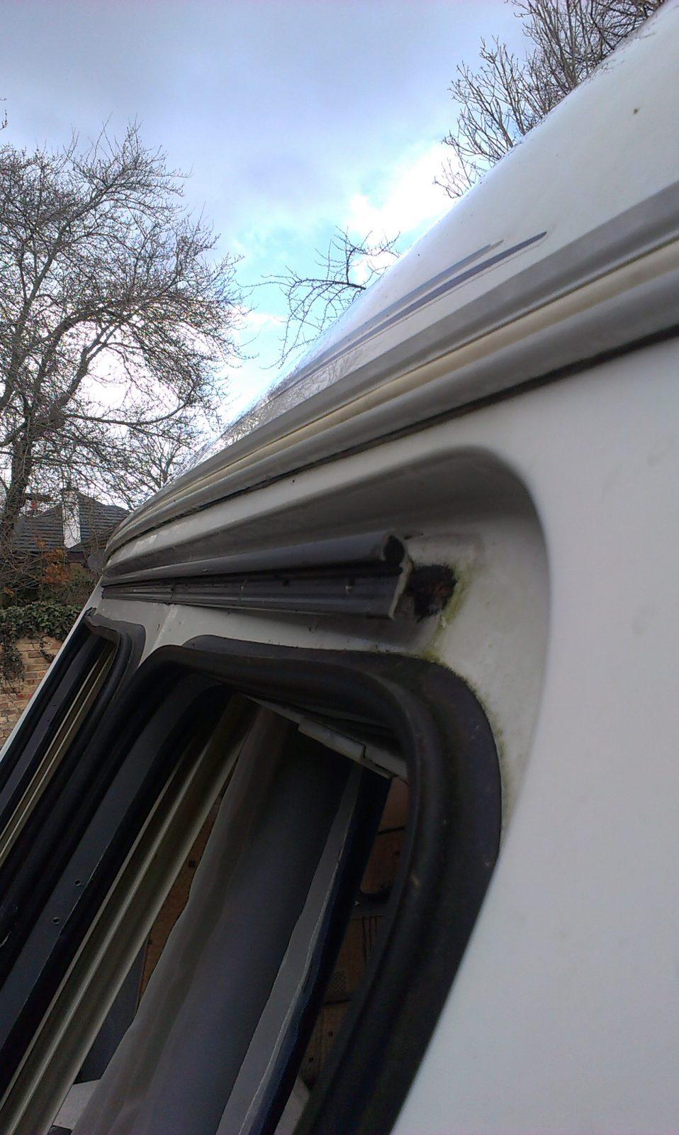 Garage Door Rubber Seal >> Bailey caravan window seals – Installing a Garage Door
