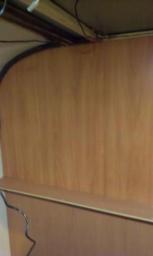 New Wood Grain Board Inplace
