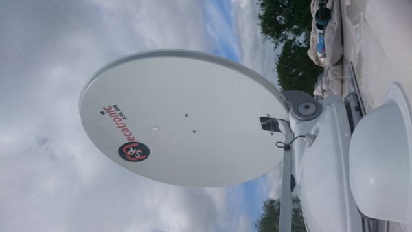Dish & Cover Mounted & Sealed