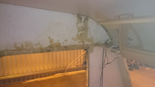 Interior Wall Board Removed Ready for Timber replacement