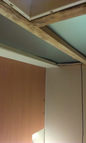 1st Piece of Bedroon Ceiling