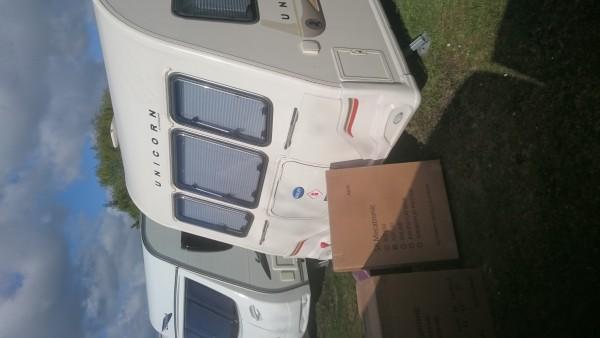 Satellite Ready to Install on Bailey Unicorn Cadiz 2012