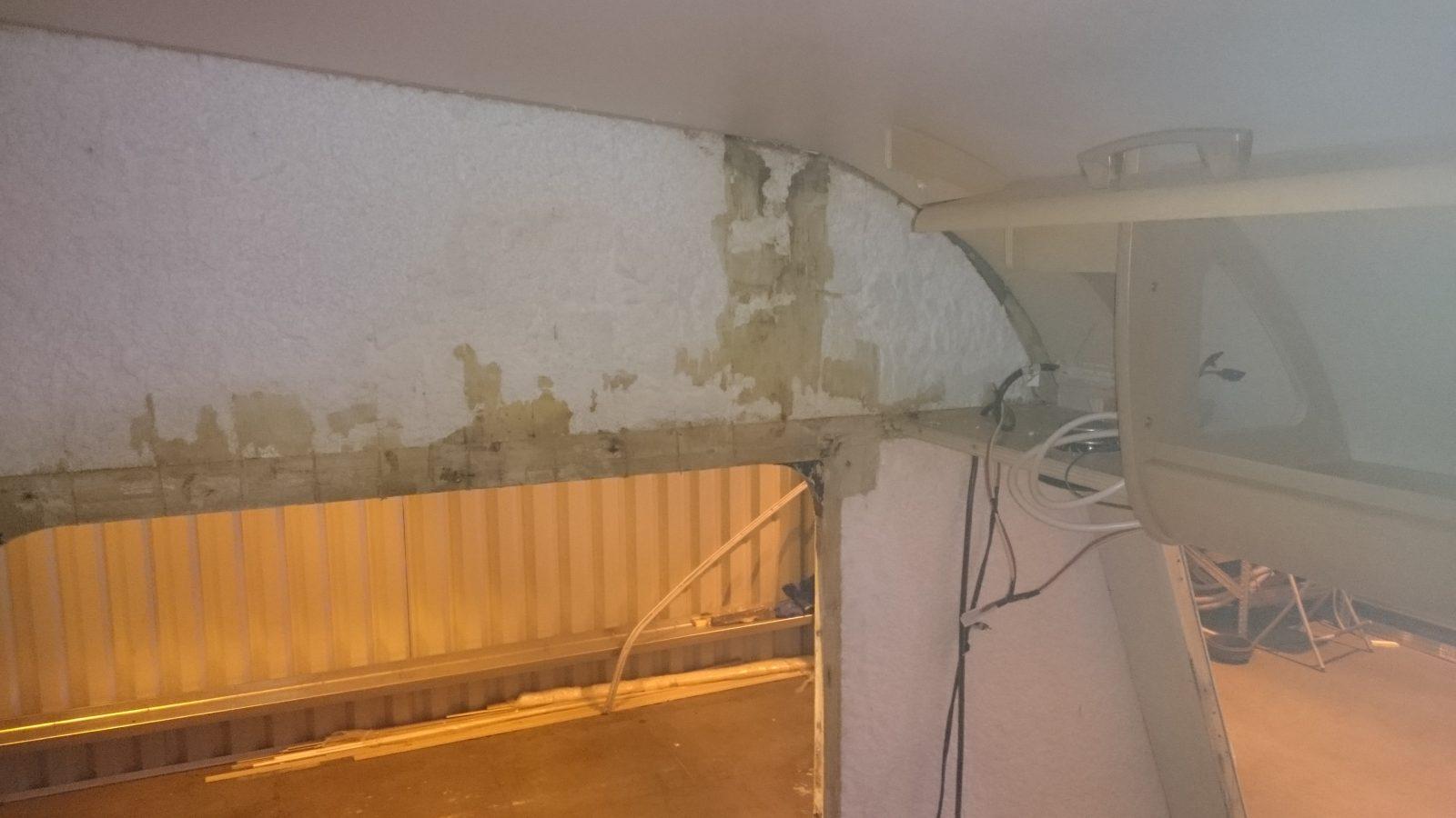 Bailey Pageant Vendee Water Ingress Damp Repair